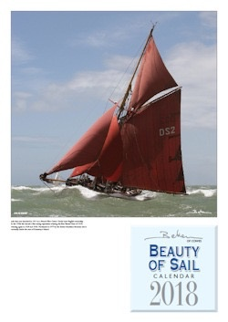 NAUTICALIA CALENDAR BEKEN BEAUTY OF SAIL 2018