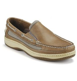 SPERRY SPERRY BILLFISH SLIPON TAN/BEIGE BOAT SHOE (MEN'S)