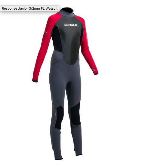 GUL GUL RESPONSE 3/2MM STEAMER WETSUIT (BOYS) *CLEARANCE*