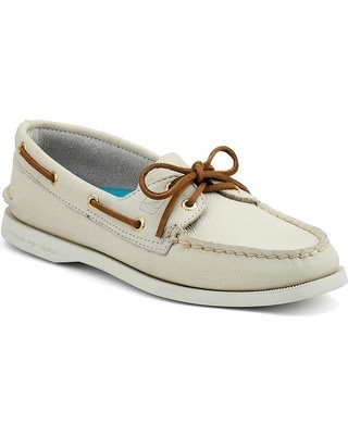 SPERRY SPERRY AUTHENTIC ORIGINAL IVORY BOAT SHOE (WOMEN'S) *CLEARANCE*