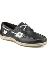 SPERRY SPERRY KOIFISH BLACK METALLIC BOAT SHOE (WOMEN'S)