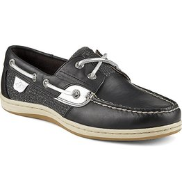 SPERRY SPERRY KOIFISH BLACK METALLIC BOAT SHOE (WOMEN'S) *CLEARANCE*
