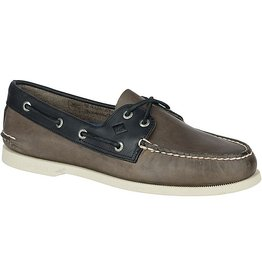SPERRY SPERRY AUTHENTIC ORIGINAL SARAPE GREY & BLACK BOAT SHOE (MEN'S)