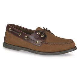 SPERRY SPERRY AUTHENTIC ORIGINAL BROWN BUCK BOAT SHOE (MEN'S)