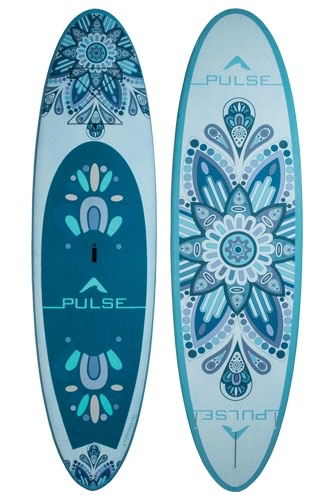 "PULSE PULSE REC-TECH 11"" STANDUP PADDLEBOARD ONLY (MANDALA) 2018"