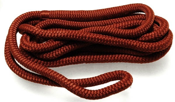 "VICTORY DOCKLINE 5/8"" X 25' BURGANDY *CLEARANCE*"