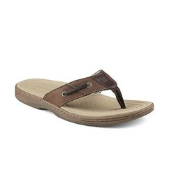 SPERRY SPERRY BAITFISH BUCK/BROWN THONG SANDAL (MEN'S)