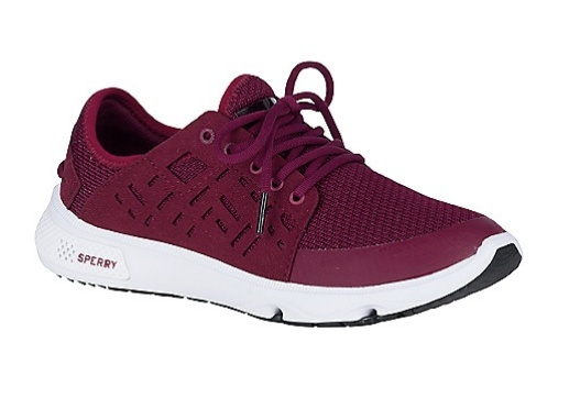 SPERRY SPERRY SEVEN SEAS BURGUNDY PERFORMANCE SHOE (WOMEN'S)