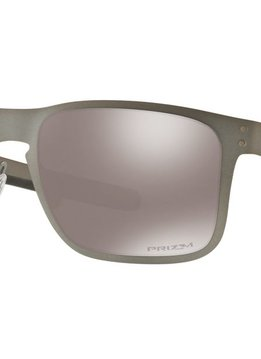 Eyewear Oakley Holbrook Metal Matte Gunmetal Frame, Lens Prizm Black Polarized