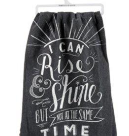 Primitives by Kathy rise & shine tea towel
