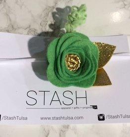 bobana boutique irish dreams felt flower headband