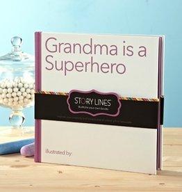 story lines book- grandma is a superhero