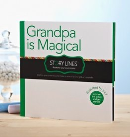 story lines book- grandpa is magical