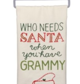 Primitives by Kathy dish towel - have grammy
