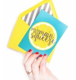 freckles creative studio you're my main squeeze card