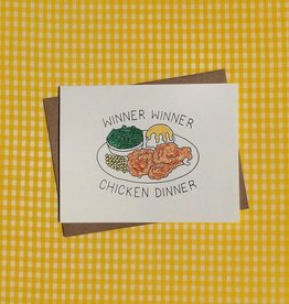 chicken dinner card