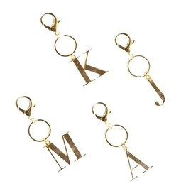 initial keychains