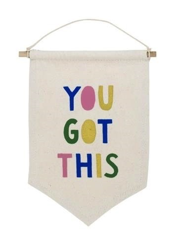 you got this affirmation banner