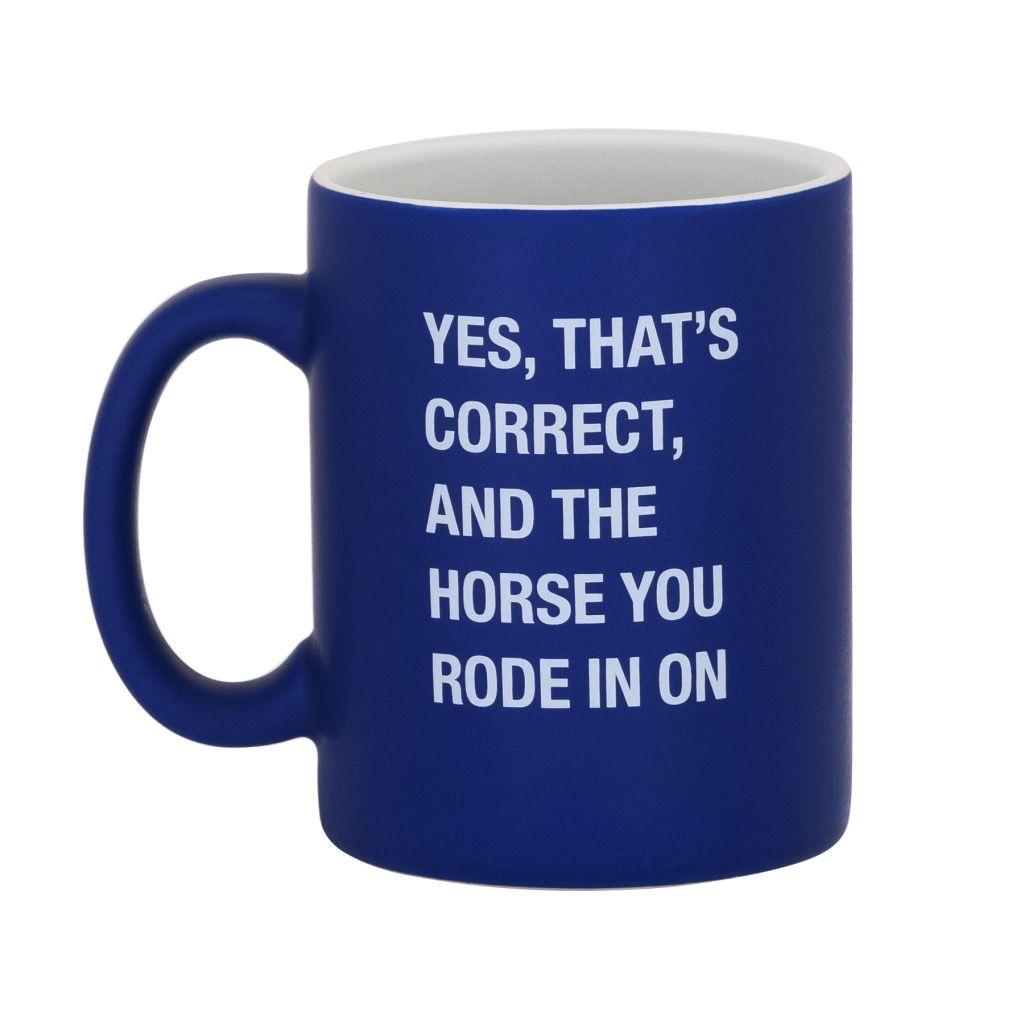 yes, thats correct mug