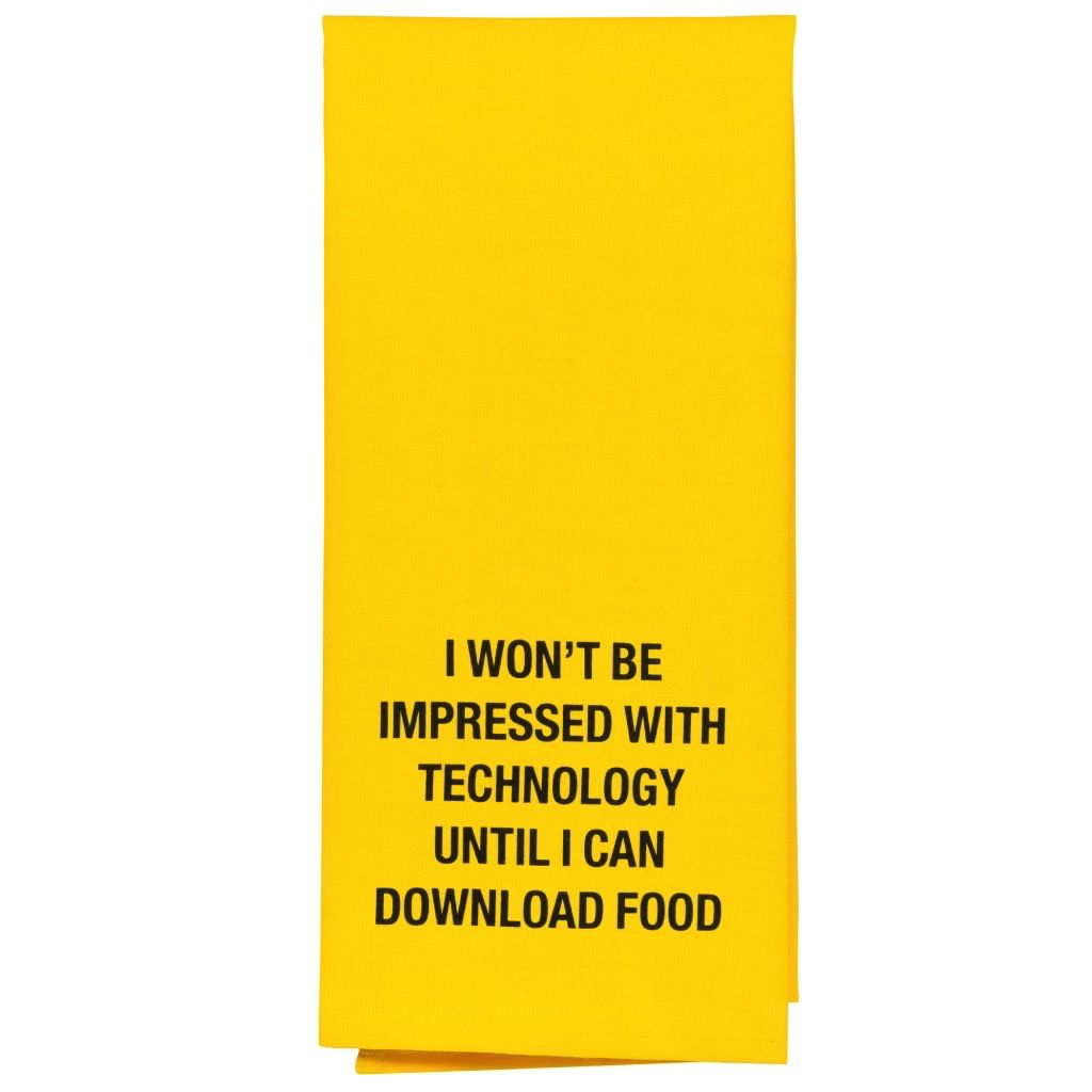 download food tea towel