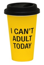 i cant adult today thermal mug