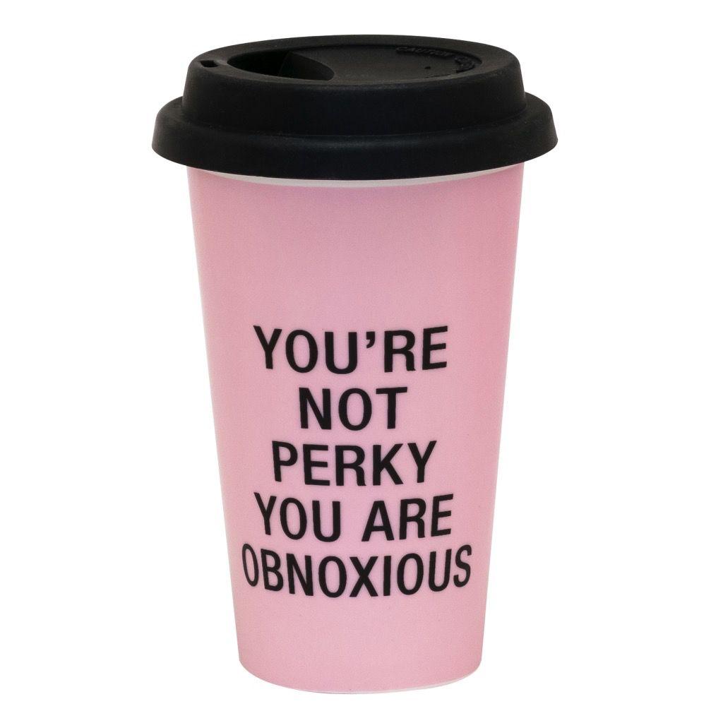 obnoxious thermal mug