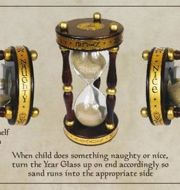FINAL SALE naughty/nice year glass
