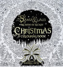 FINAL SALE santa claus the book of secrets coloring book