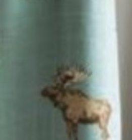 milkbarn mini lovey - bow tie moose
