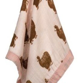 milkbarn mini lovey pink boot alpaca
