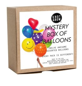 knot & bow mystery mix balloons
