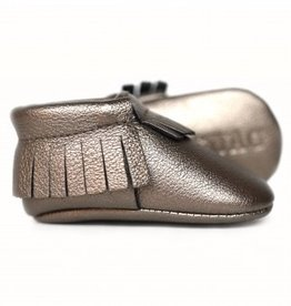 sweet n swag lucky charm platinum copper moccasins