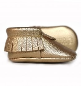 sweet n swag golden rule gold baby moccasins