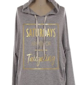 arden clothing saturdays are for tailgating hoodie FINAL SALE