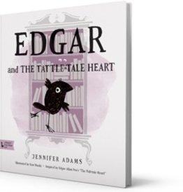 FINAL SALE edgar and the tattle-tale heart book