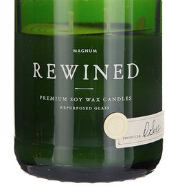rewined magnum champagne candle