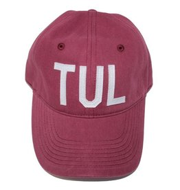 aviate TUL hat - maroon