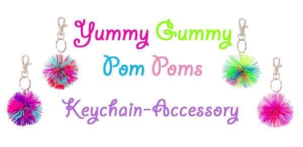 large yummy gummy key chain