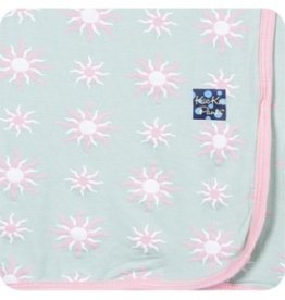 kickee pants aloe sunshine swaddling blanket