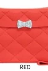red yummy gummy wristlet