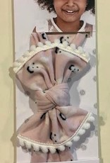 Baby Bling trimmed bunny knot headband