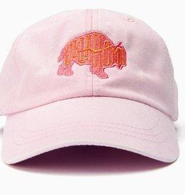 LivyLu light pink bison oklahoma bison cap