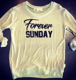 vintage havana forever sunday crewneck sweatshirt