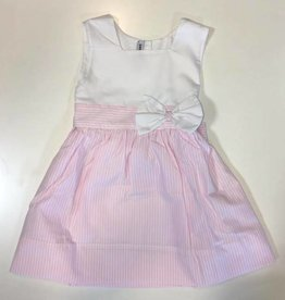 sweet dreams pink stripe bow dress