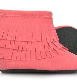 sweet n swag think pink moccasin boots