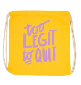 too legit drawstring bag FINAL SALE