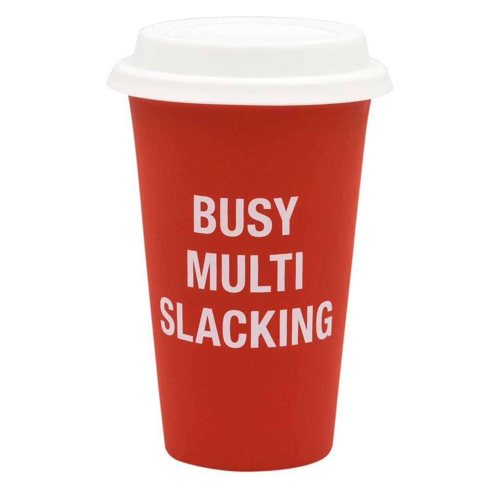 multi slacking thermal mug