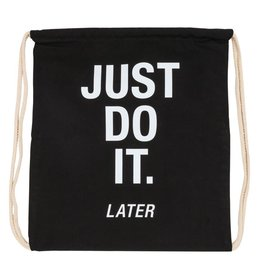 just do it drawstring bag FINAL SALE