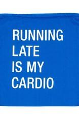 running late drawstring bag