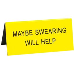 swearing will help sign